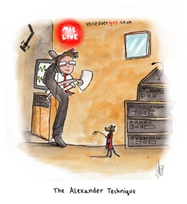 Voiceover Cartoon - Alexander Technique