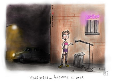 Voiceover Cartoon - Awesome At Oral