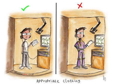 Voiceover Cartoon - Clothing