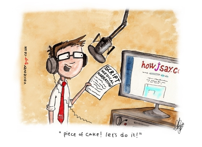 Voiceover Cartoon - HowJSay