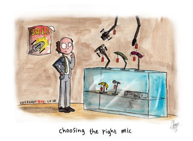 Voiceover Cartoon - Mic Selection