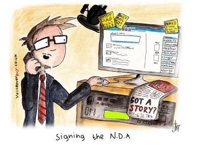 Voiceover Cartoon - NDA