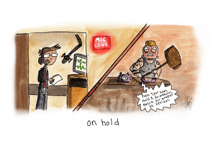 Voiceover Cartoon - On-Hold