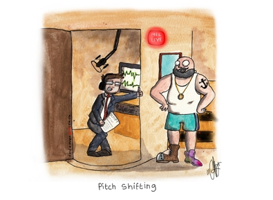 Voiceover Cartoon - Pitch Shifting