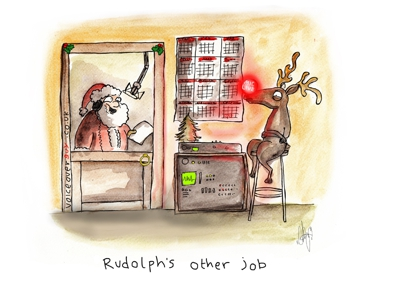Voiceover Cartoon - Rudolf