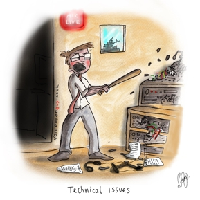 Voiceover Cartoon - Technical issues