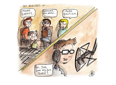 Voiceover Cartoon - TheAgency