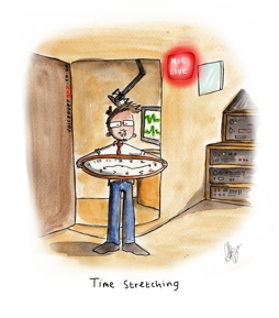 Voiceover Cartoon - Time Stretching