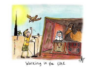Voiceover Cartoon - UAE