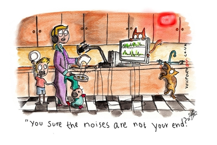 Voiceover Cartoon - Voiceover Mums