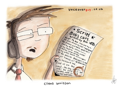 Voiceover Cartoon - client written