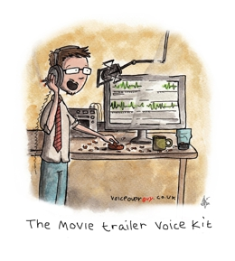 Voiceover Cartoon - movie trailer voice