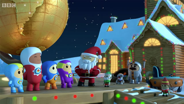 Cbeebies GoJetters Santa Voice