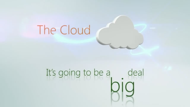 Cloud voiceover