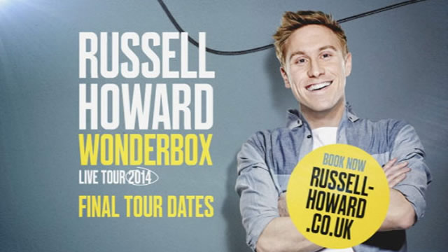Russell Howard voiceover